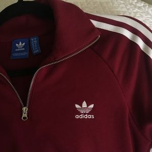 Adidas originals quarter zip